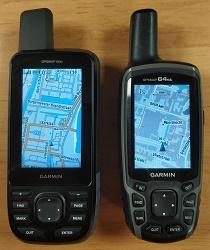 Garmin GPSMAP 66st en Garmin GPSMAP 64st