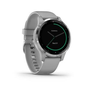 Garmin Vivoactive 4S Powder Grey met zilver