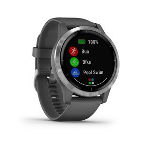 Garmin Vivoactive 4 Shadow Grey met zilver