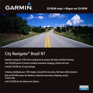 City Navigator Brazilië