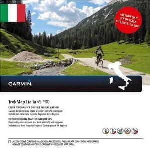 Trekmap Italië