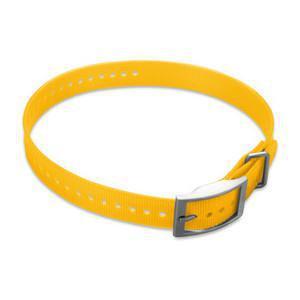 Halsband geel