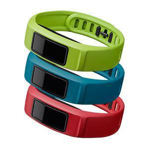 Polsbanden vivofit 2 rood, blauw, groen