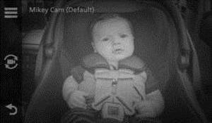 Garmin babycam
