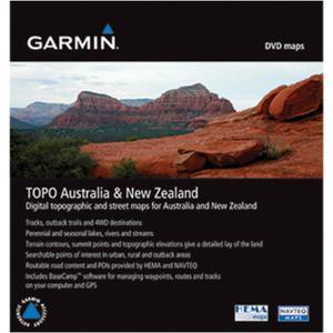 Topo Australië en Nieuw Zeeland