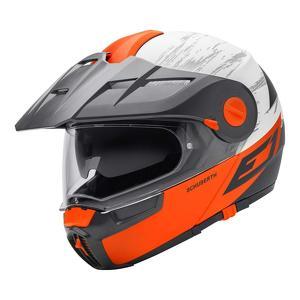 Schuberth E1 Crossfire orange