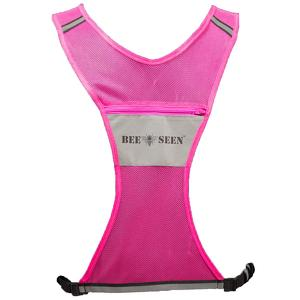 Bee Seen Reflective vest pink