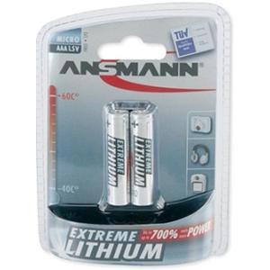 Lithium batterij AAA