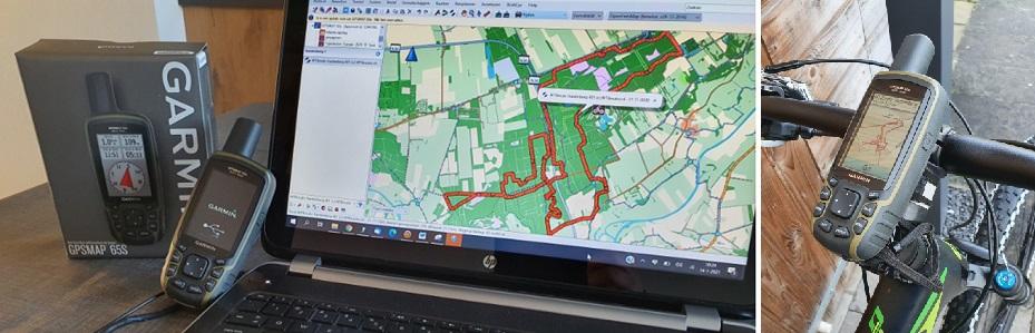 Met de MTB en GPS op avontuur